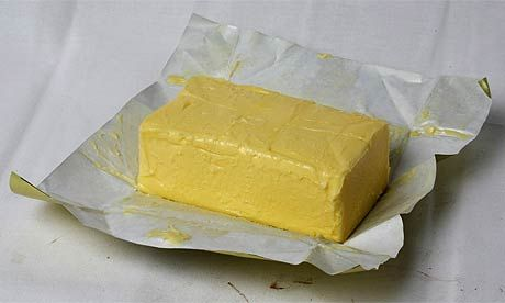 Butter, one of my major ingredients. Real butter, not margarine.