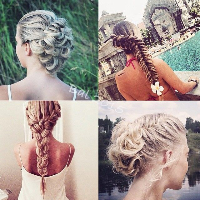 Which one is your favorite?  Credit to @braidbyc  Also Check out our new #GiveAway in our recent post with our #Youcurl 400 F Tourmaline Ceramic Wand (model CD117R)  #Winner will be announced Thursday April 30th! To win you must: -  Follow @conair - Tag 3 or more people -