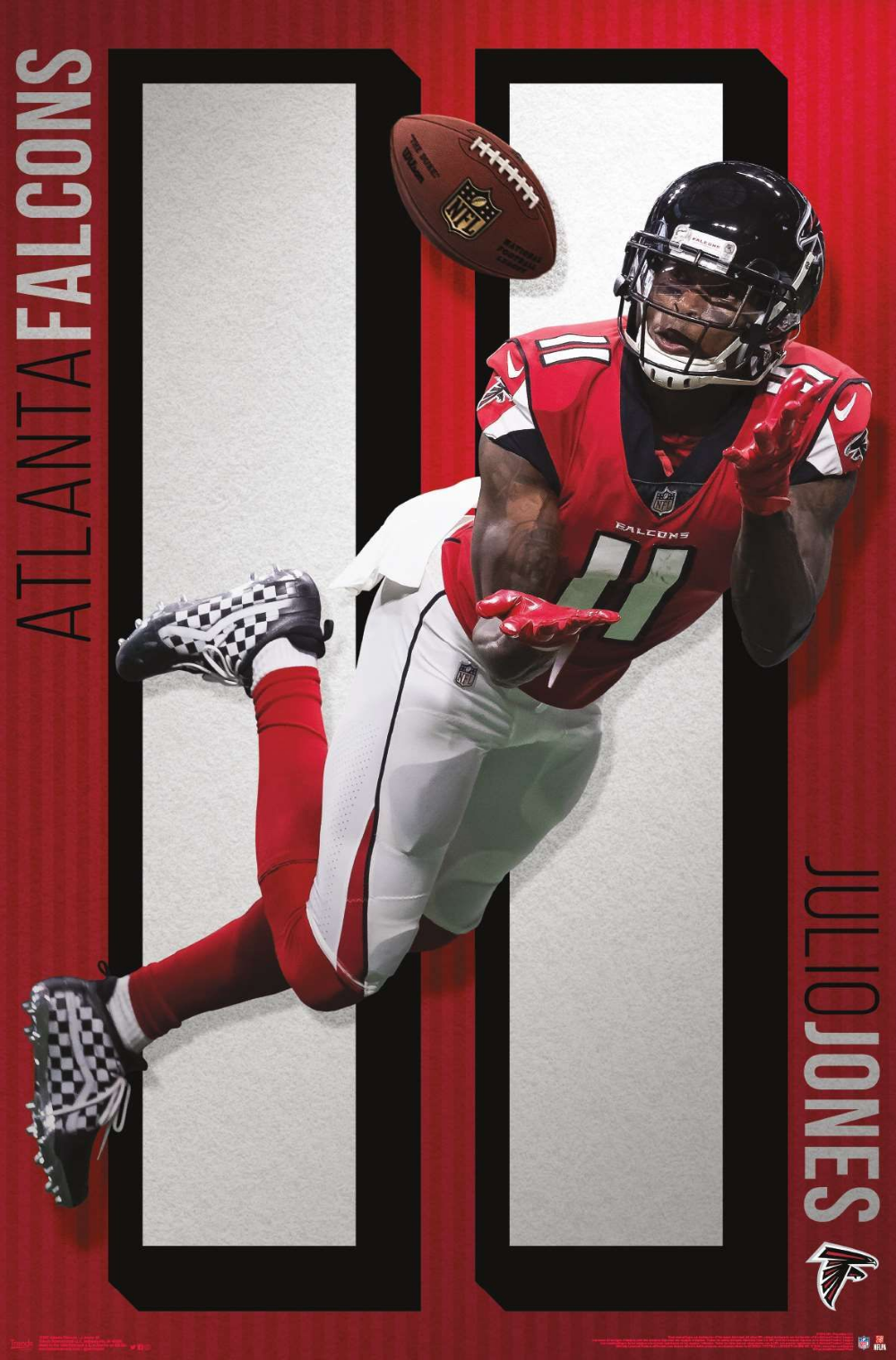 Nfl Atlanta Falcons Julio Jones 19 Julio Jones Atlanta Falcons Football Atlanta Falcons