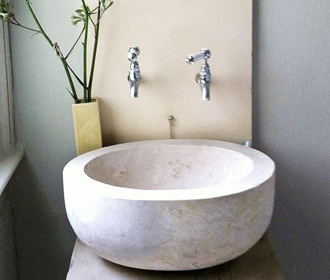 Bathroom #sinks #bowl #eggedancient Surfaces For More Extraordinary Sink Bowl Bathroom Design Inspiration