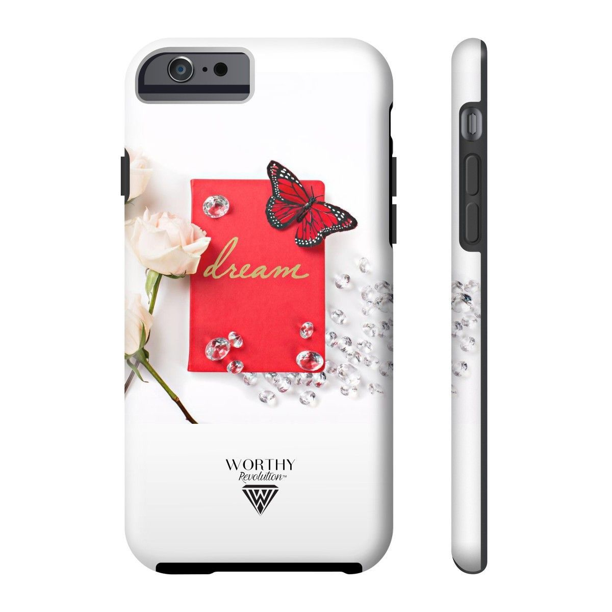All US Phone cases (Red Dream Journal Butterfly)