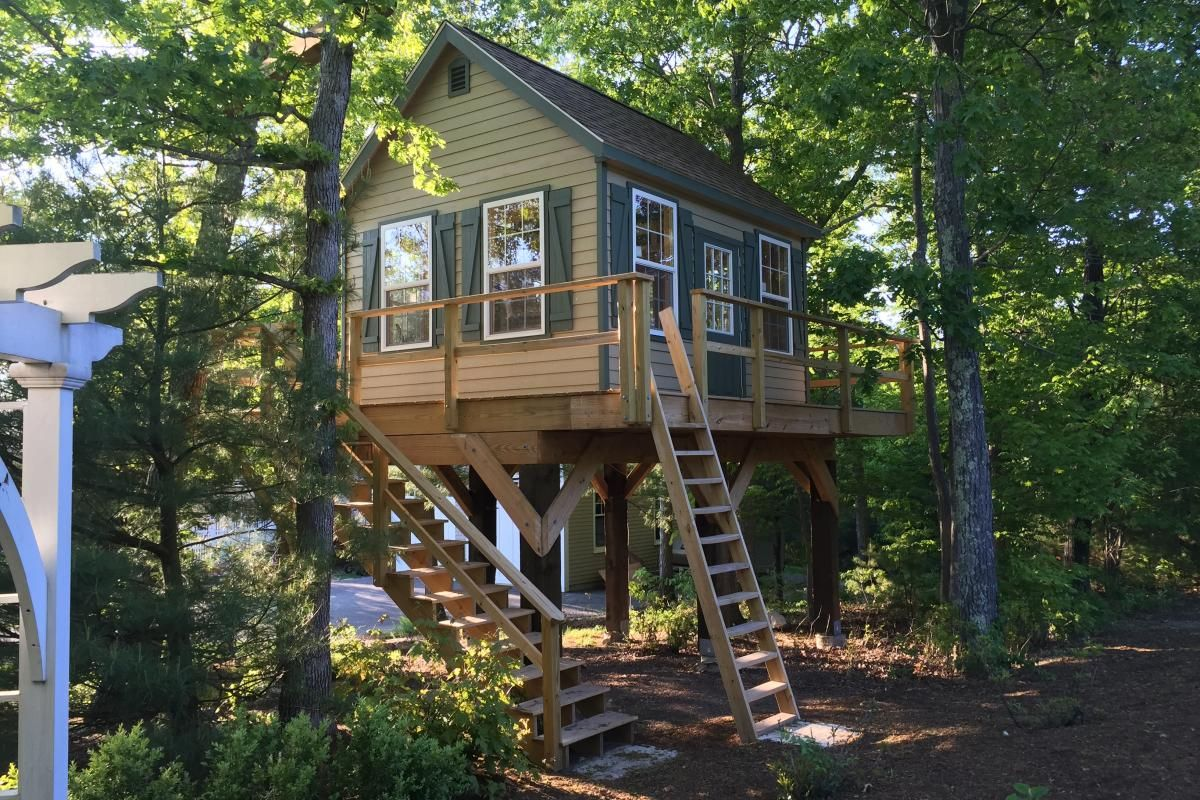 Buy Man Cave Treehouse Shed For Sale Near Me, PA | Portable