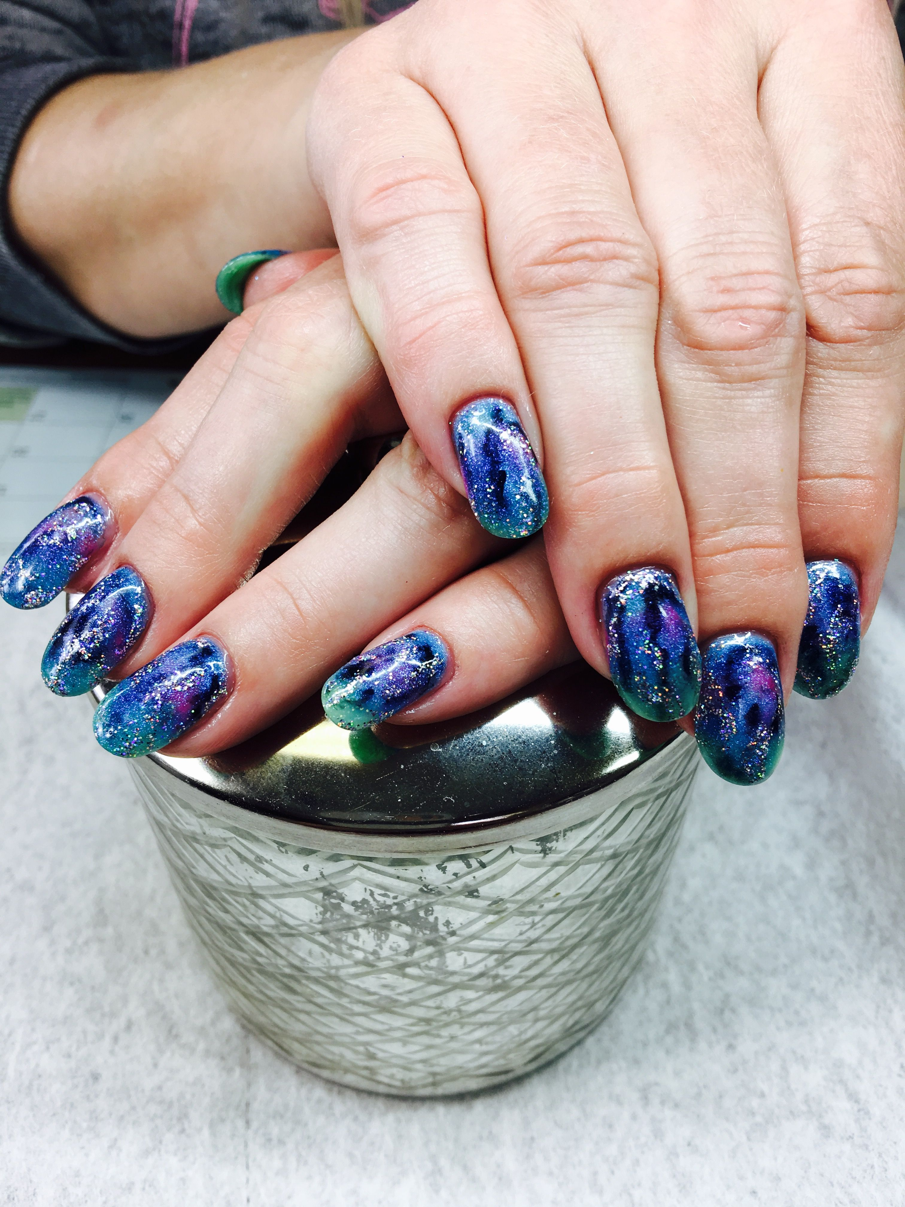 To the galaxy and beyond I love my nails! Thank you Exquisite nails ...