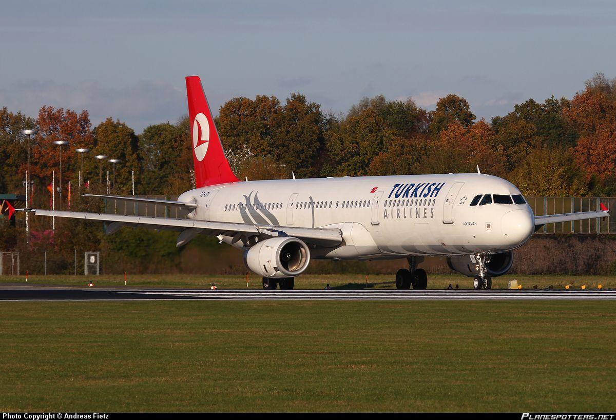 TC-JRI Turkish Airlines Airbus A321-231