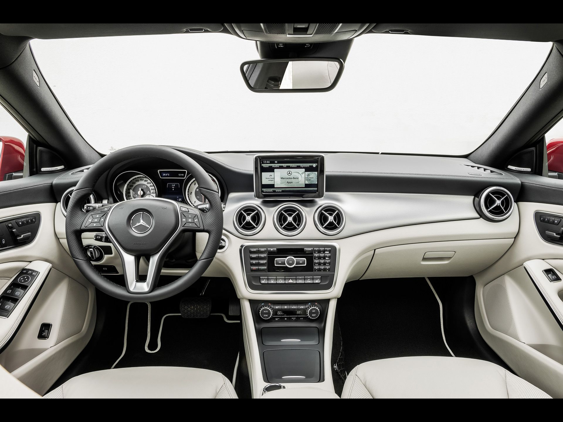 Mercedes Benz Cla 2013 Interior 2013 Mercedes Benz Cla Class