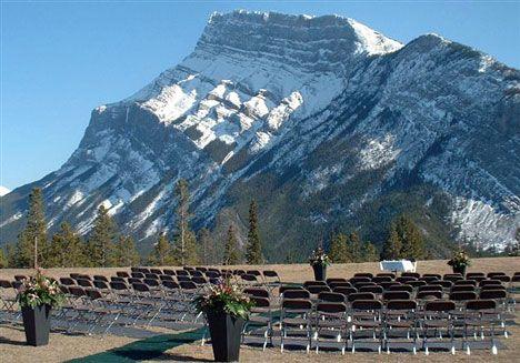 Wedding At Tunnel Mountain In Banff Alberta Gorgeous