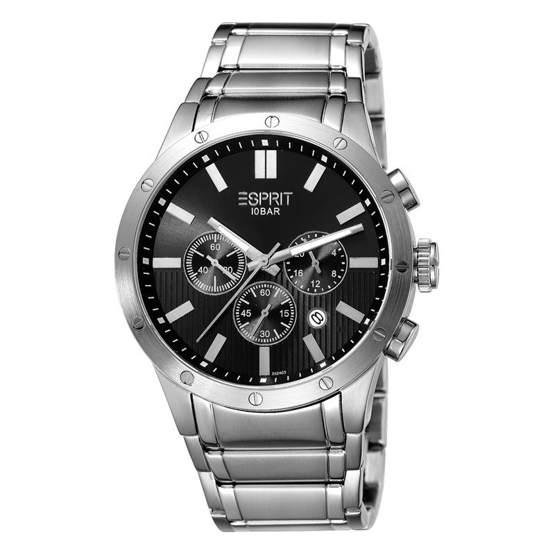 Esprit Impac silver black ES103241005 (€139 gratis verzending NL+BE)