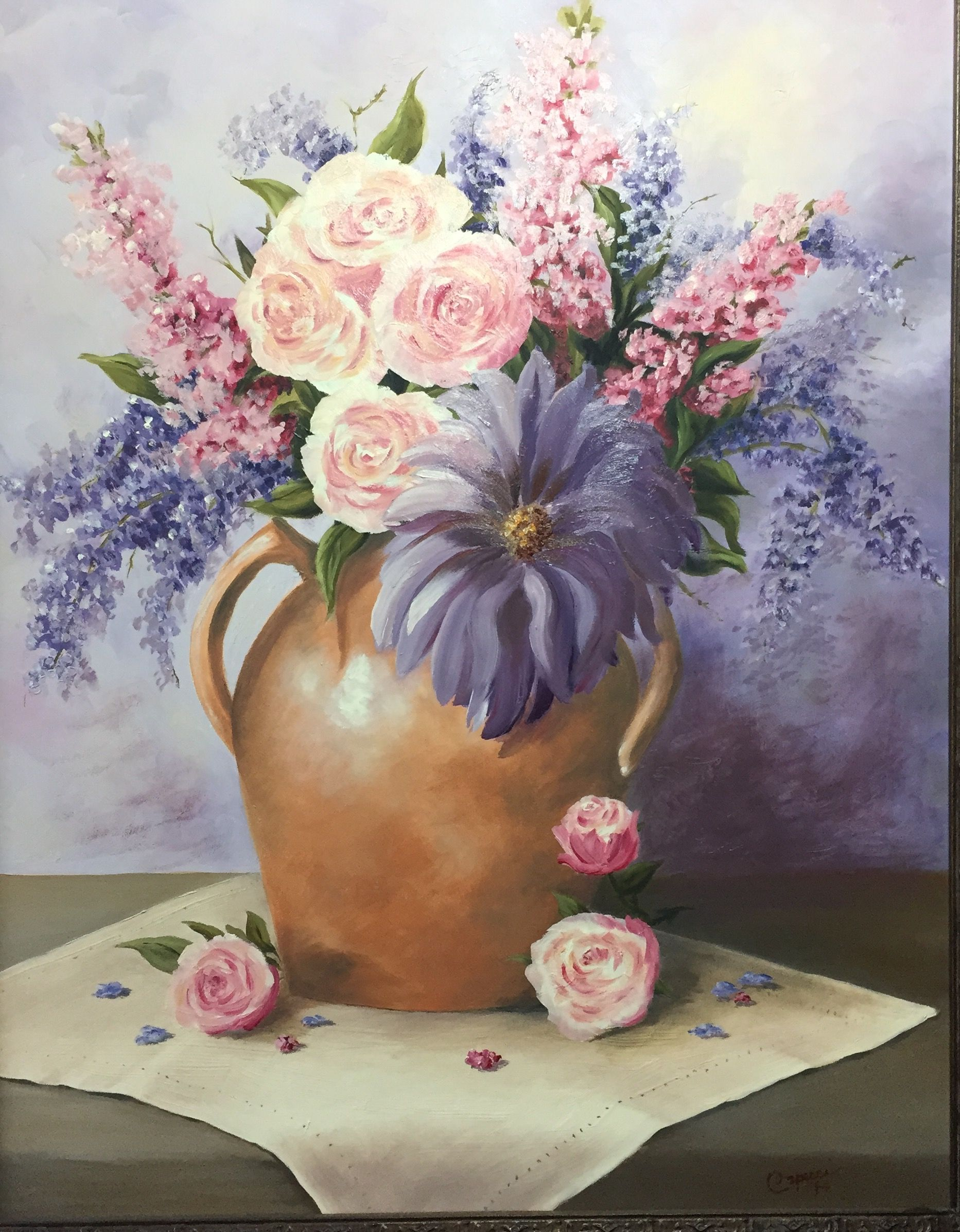 Pin by Robin Capecci on floral paintings Floral painting