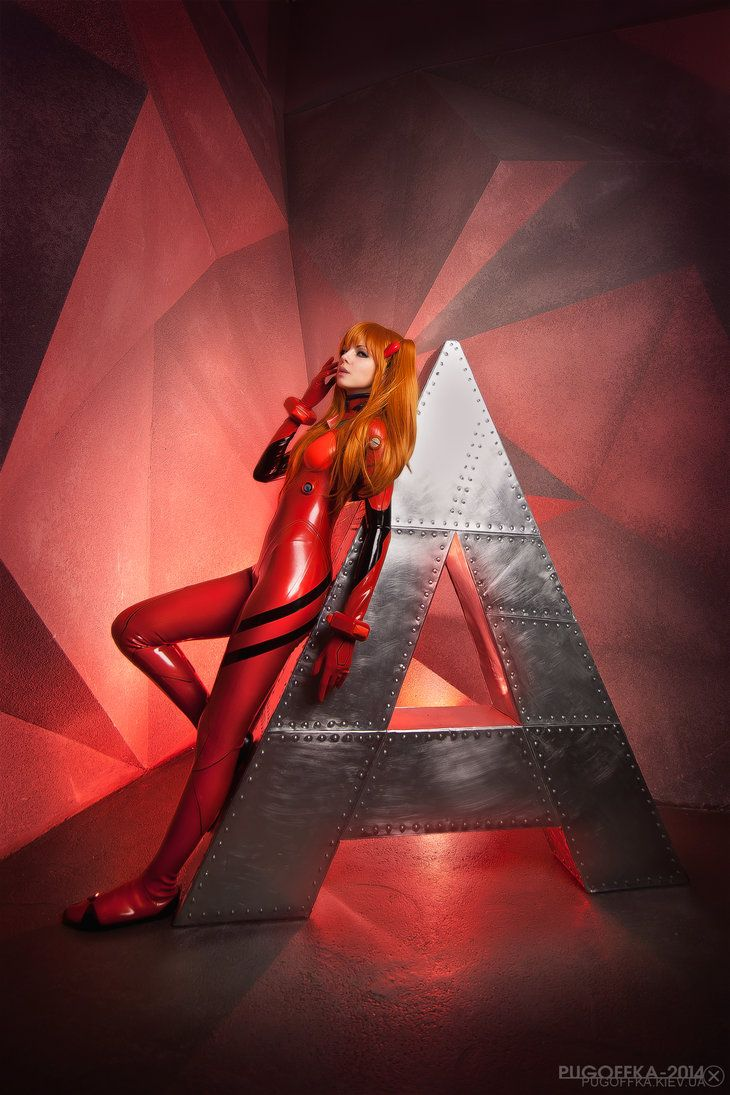 Asuka Langley Soryu - Neon Genesis Evangelion by frosel