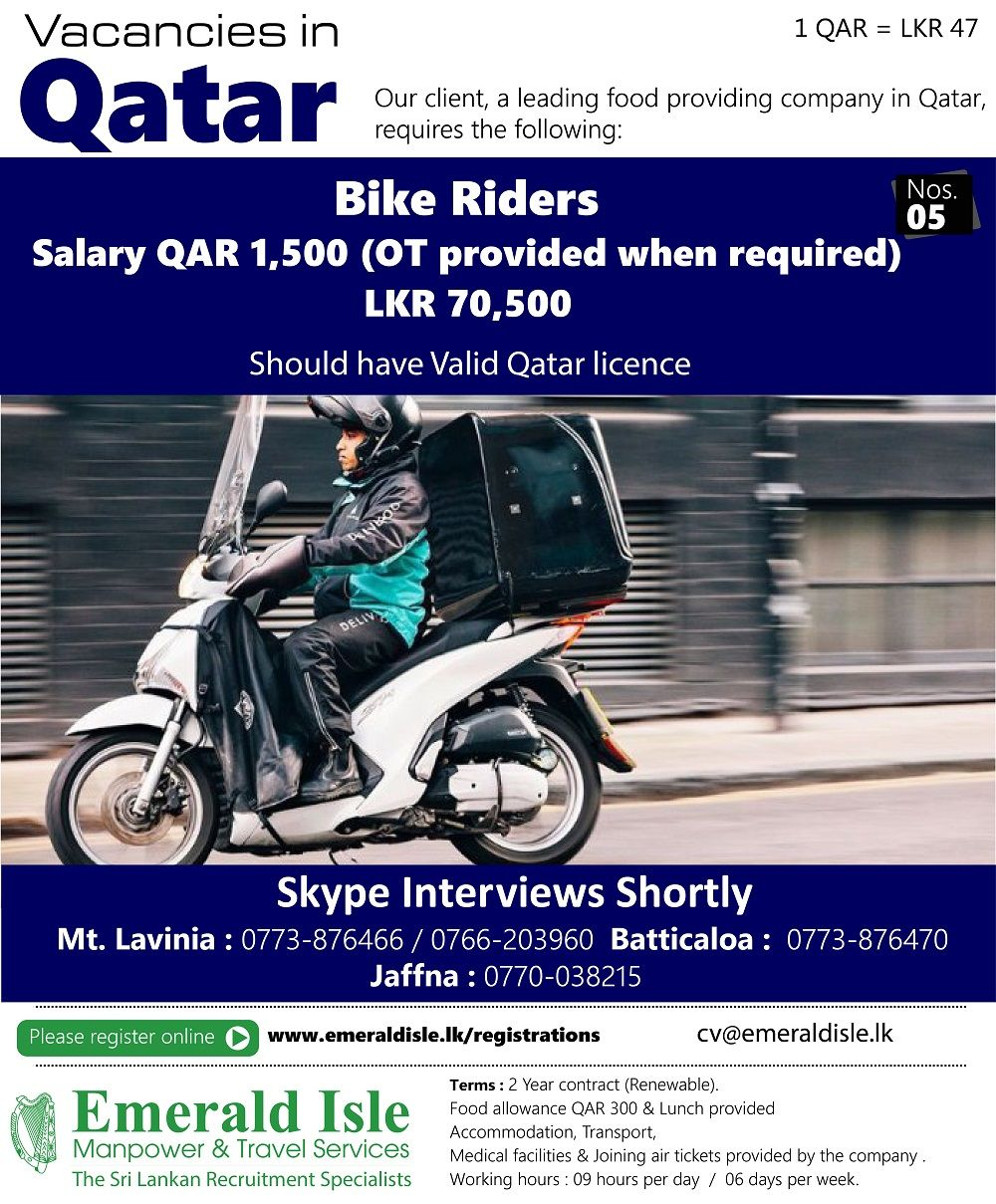 Manpower agencies Sri Lanka Sri Lanka recruitment