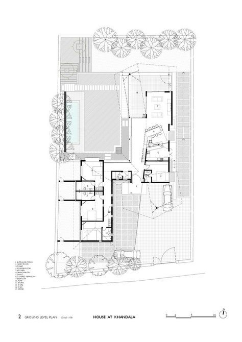 Galer a de casa en khandala opolis architects 15 for Plans d arkitek
