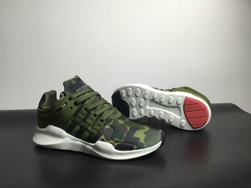 brand new d784b ef02f Discount Adidas EQT running support 93 Primeknit Olive Green Army Green  Camo For Cheap