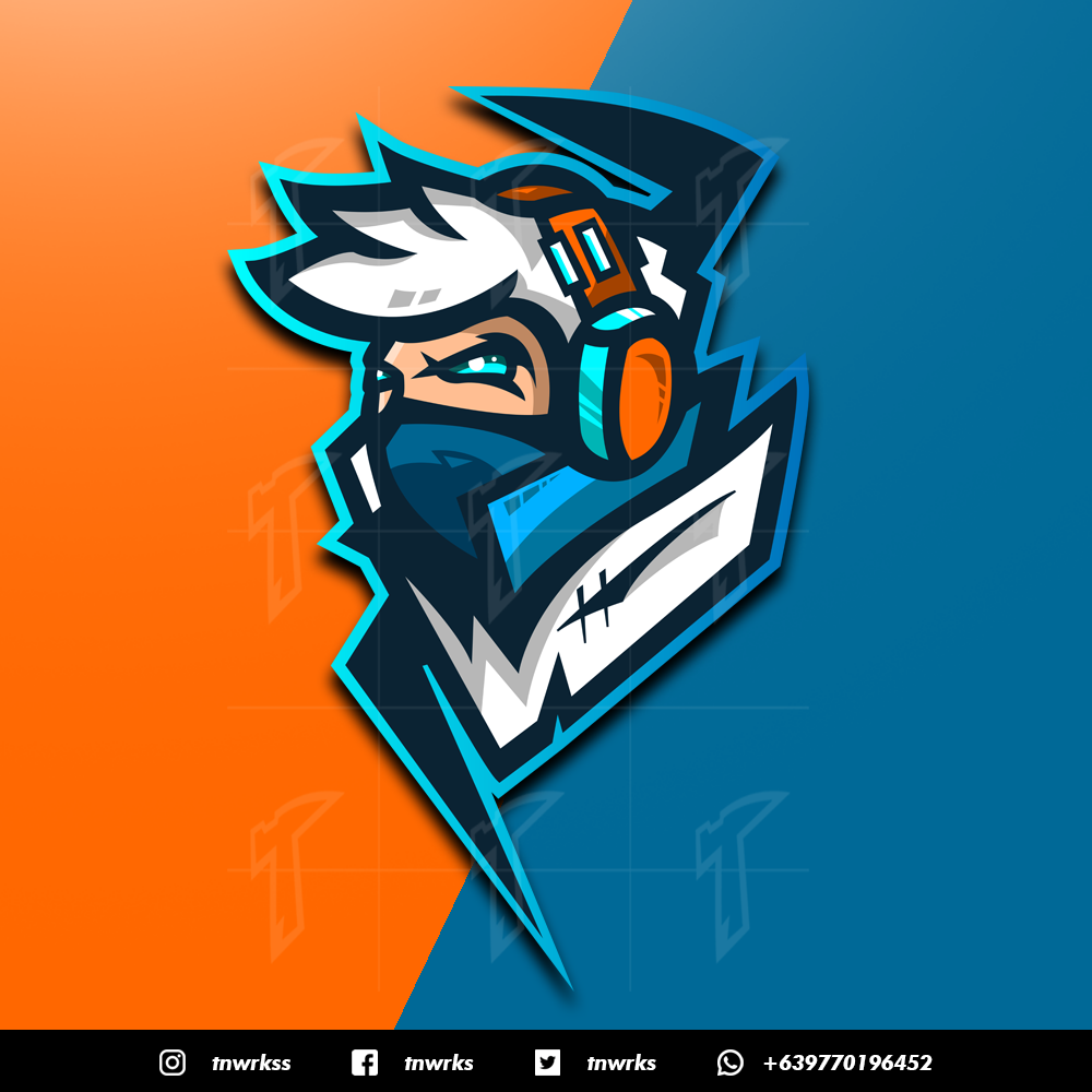 Hello Everyone We Are Eighty Eight Design We Ve Been Experienced Making Mascot Logo For Twitc Logo Design Inspiration Sports Team Logo Design Game Logo Design