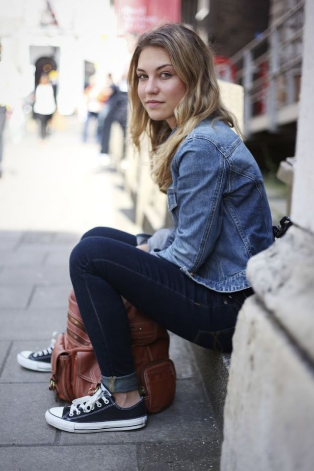 25 looks con converse negras | Clothing | Looks con converse