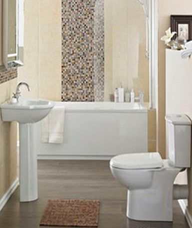 Premier Linton 2 Piece Bathroom Suite - Product Code: CLN001 only for £149.95