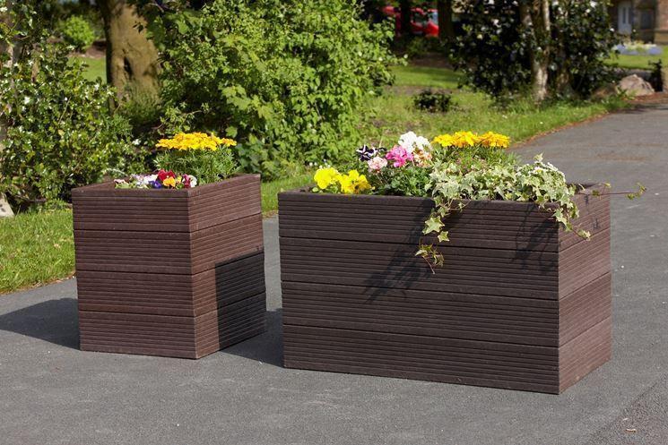 fioriere da esterno in resina | Balcone | Pinterest | Fioriere da ...