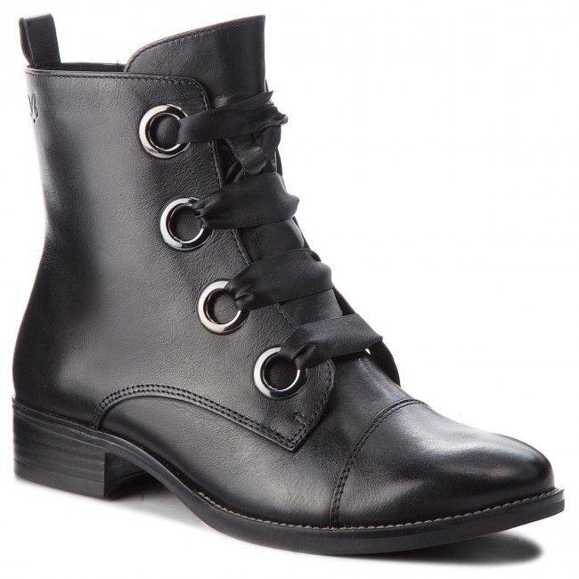 a81c2f76c2 Členková obuv CAPRICE - 9-25105-21 Black Nappa 022