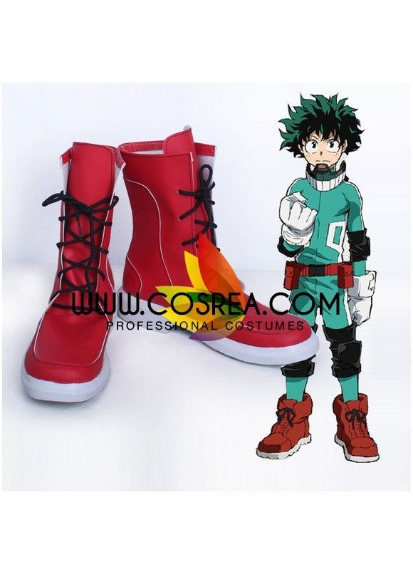 My Hero Academia Izuku Midoriya Cosplay Shoes | My hero
