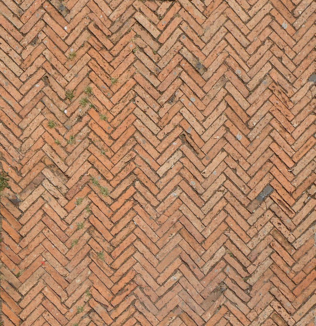 how to clean outdoor brick floors