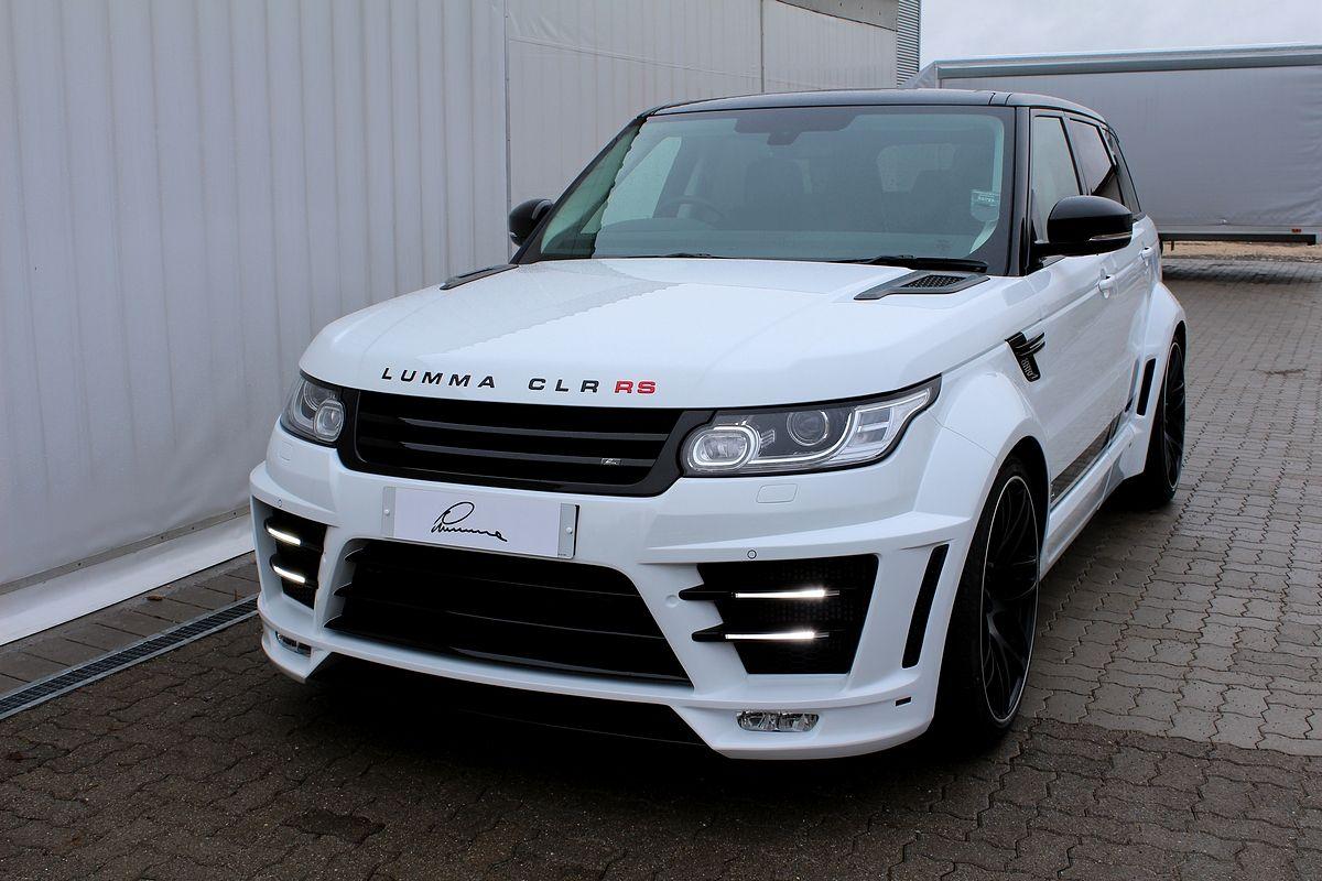 Range Rover Sport 2014 On Lumma Clr Rs Lumma Design Range Rover