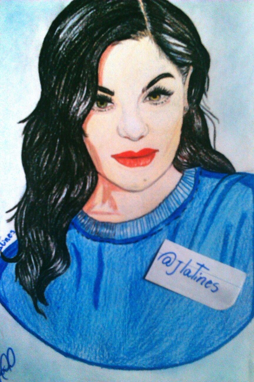 #JessiJ  #Art #paper #Drawing #Desenho #MiPrimerRetrato