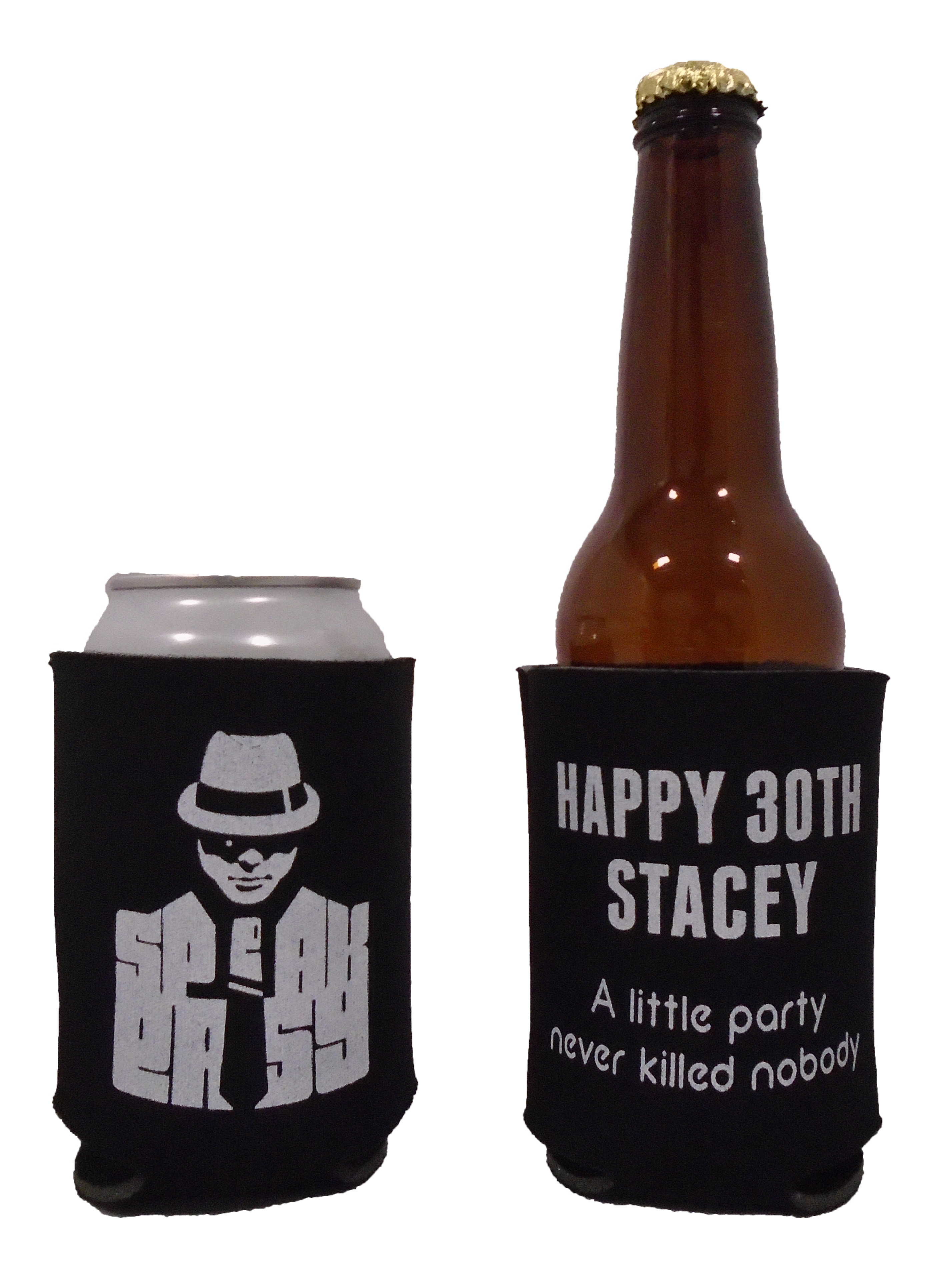 1st Birthday baseball Koozie rookie of the year can coolers no minimums
