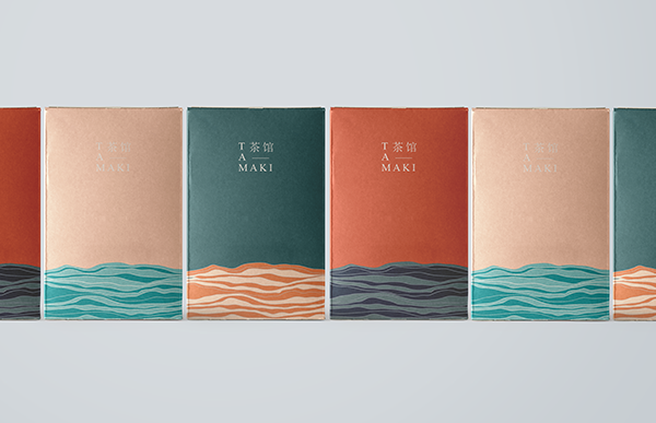 #Branding #House #packaging #TAMAKI #Tea TAMAKI tea house - branding + packaging on Behance