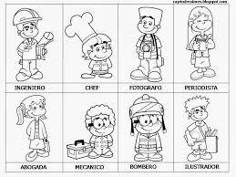 Resultado De Imagen De Proyecto Infantil Los Oficios Community Helpers Preschool Community Helpers Worksheets People Who Help Us