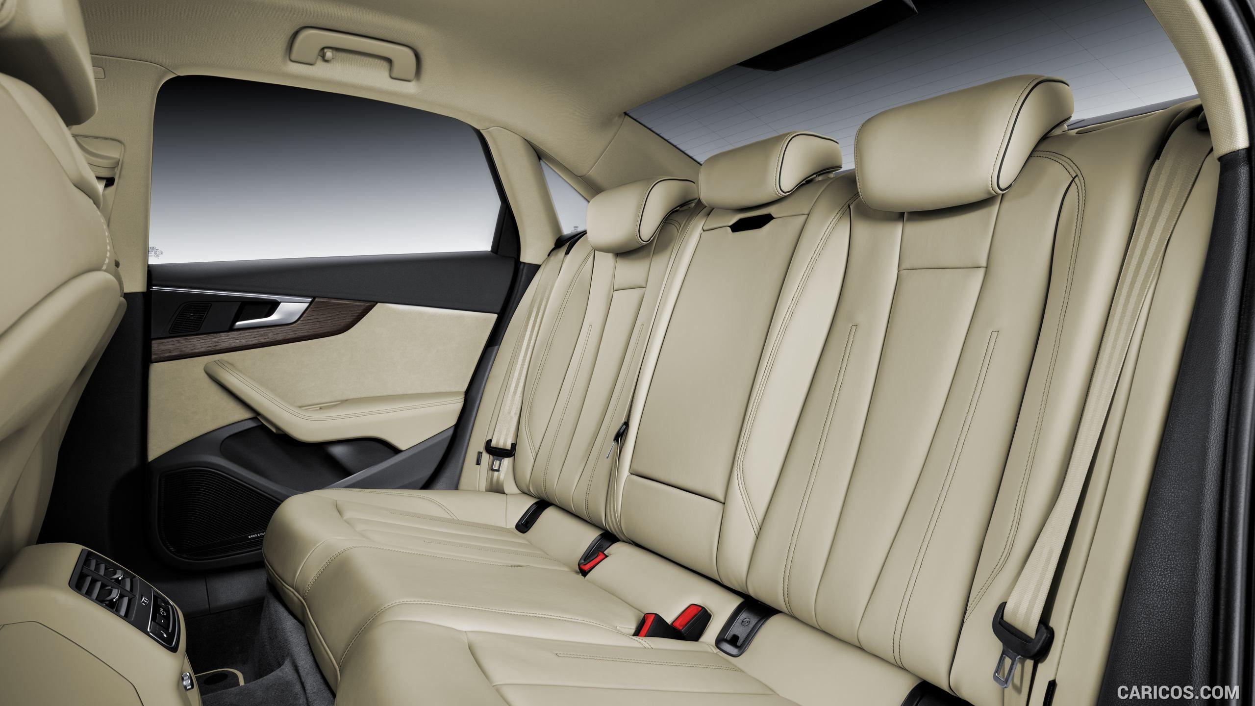 2016 Audi A4 Wallpaper Audi A4 Audi Rear Seat