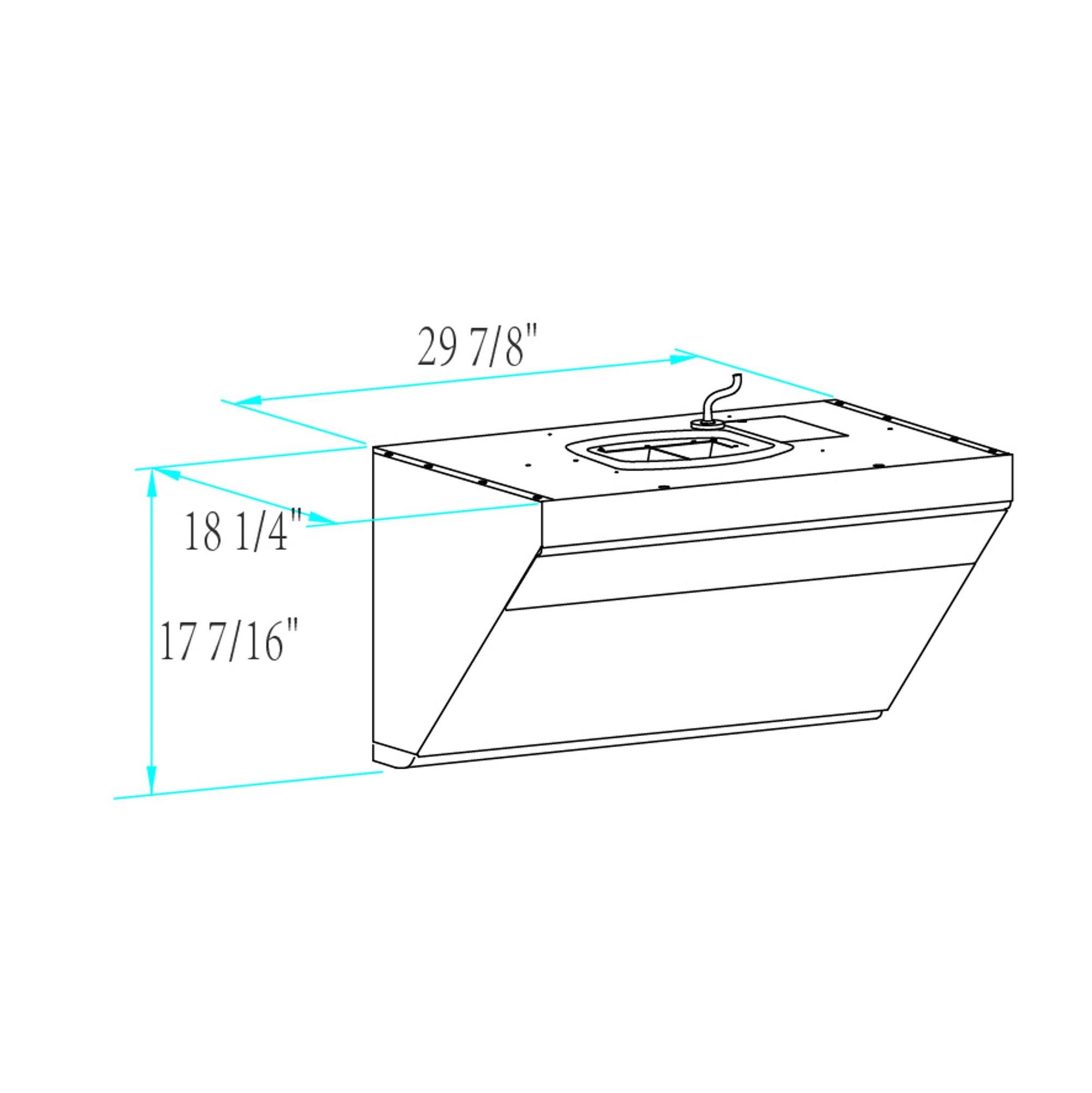Jqg7501 G Dimension Best Range Hoods Installing Cabinets Range Hood