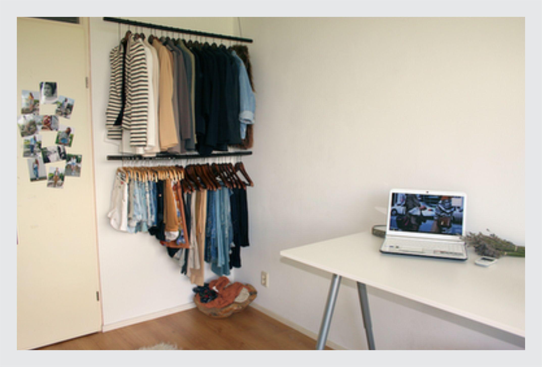 Armario Para Quarto Muito Pequeno : Truques para organizar armario pequeno sos solteiros