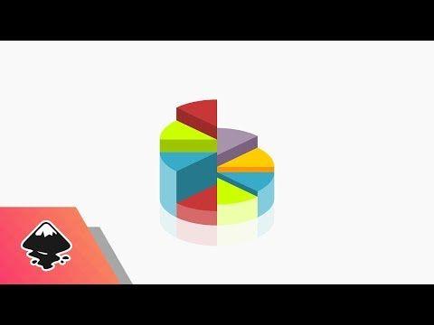 Inkscape Tutorial Vector Pie Chart Icon Youtube Freelance Graphic Design Gimp Tutorial Pie Chart