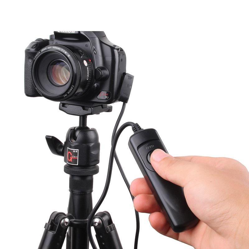 Camera Remote Control Shutter Release Switch Rs 60e3 For Canon 60d 70d 80d Us 3 99 Autofocus Nikon D810 Remote Control