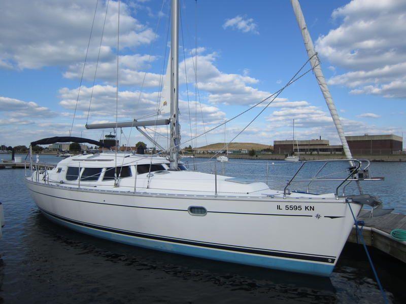 Starboard Steering By Companionway 2000 Jeanneau Sun Odyssey 40