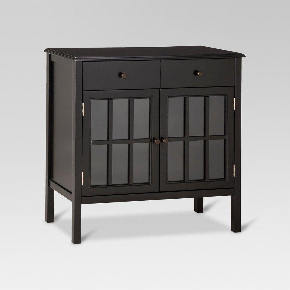 Windham Storage Cabinet With Drawer Black Threshold With Images Storage Cabinet With Drawers Cabinet Drawers Cabinet