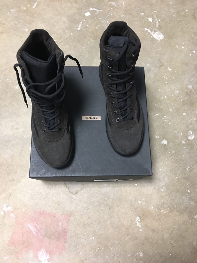 4f0b605f0d4c0 YEEZY MENS MILITARY BOOT US 13 UK 46 BRAND NEW OIL BLACK  fashion  clothing   shoes  accessories  mensshoes  boots (ebay link)