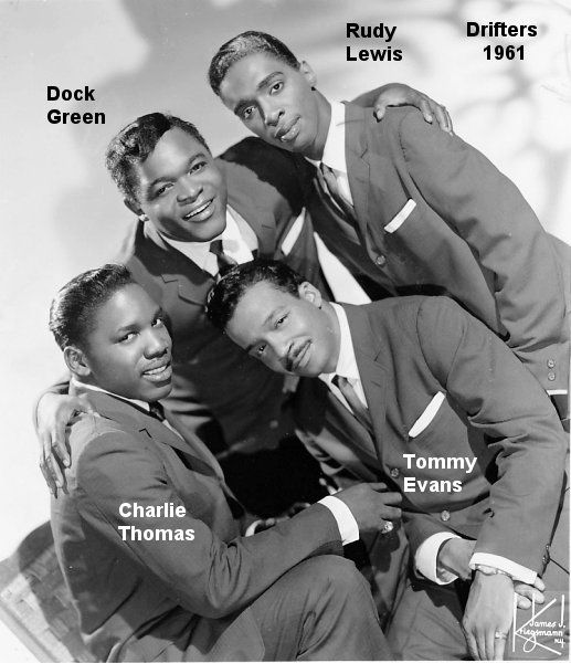 Rudy Lewis Singer In The Legendary Rb Group The Drifters From 1960