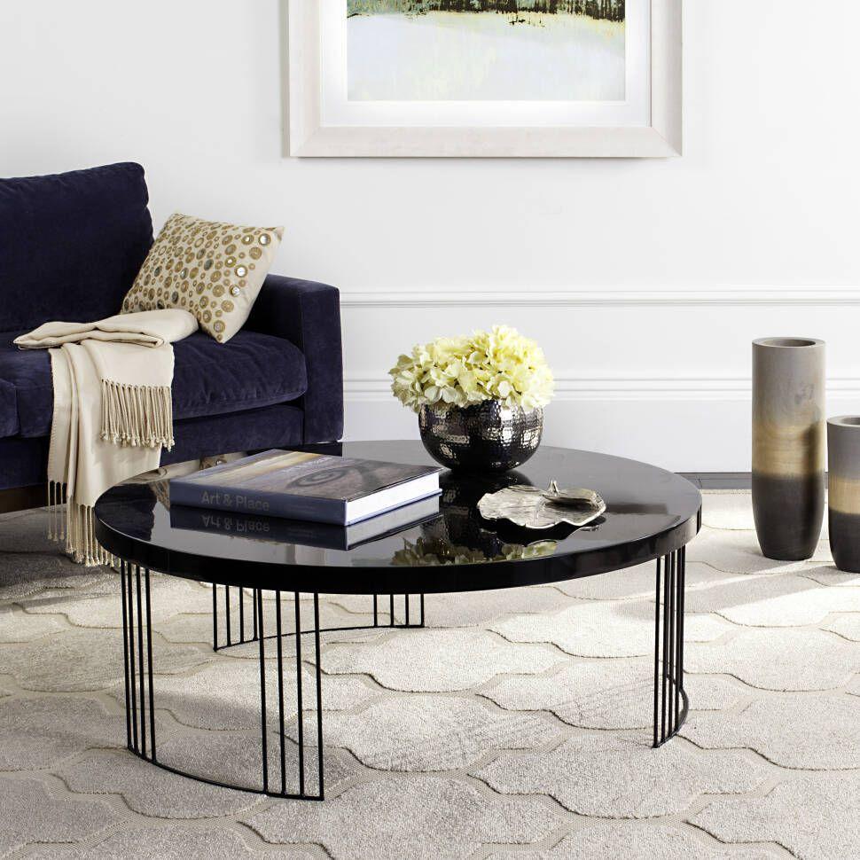 Modern Fashion Mid Century Coffee Table Coffee Table Black Coffee Tables [ 970 x 970 Pixel ]