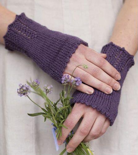 Knitting Pattern For Hettys Sunday Cuffs Wrist Warmers