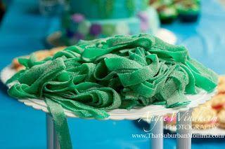 Under the Sea/ Mermaid Birthday Party seaweed