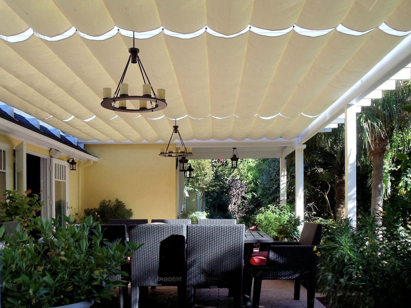 Slide Wire Cable Awnings Canopy Outdoor Canopy Bedroom Ikea Canopy