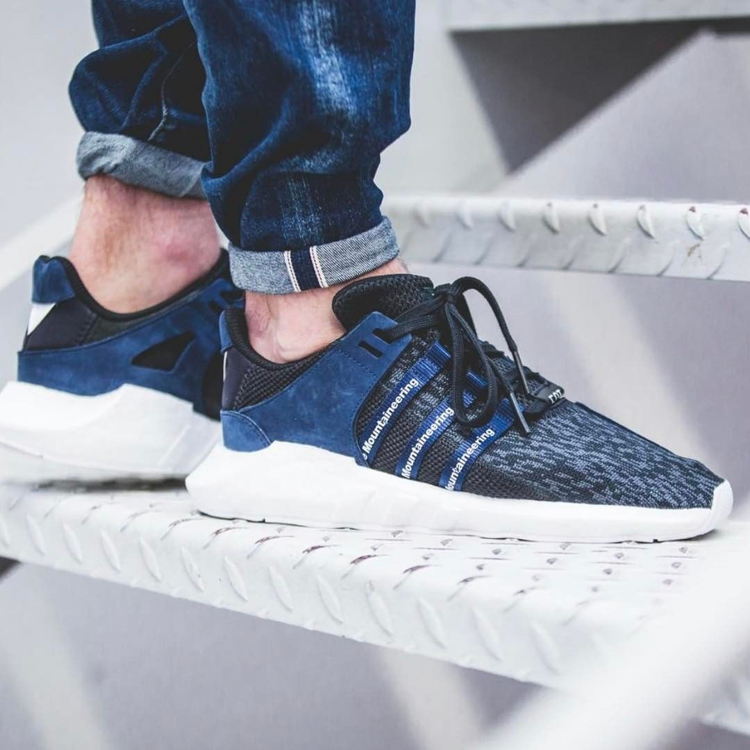 7eea13908 EQT Support 93 17 x White Mountaineering release TONIGHT.. probably the  comfiest Boost we ve owned - Links on our site to BUY! -  yeezysforall   yeezyboost ...