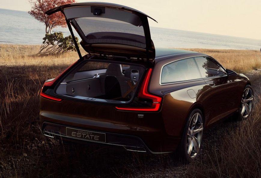 Back View Hd Pics Of 2014 Volvo Concept Estate Wallpaper Acura Car