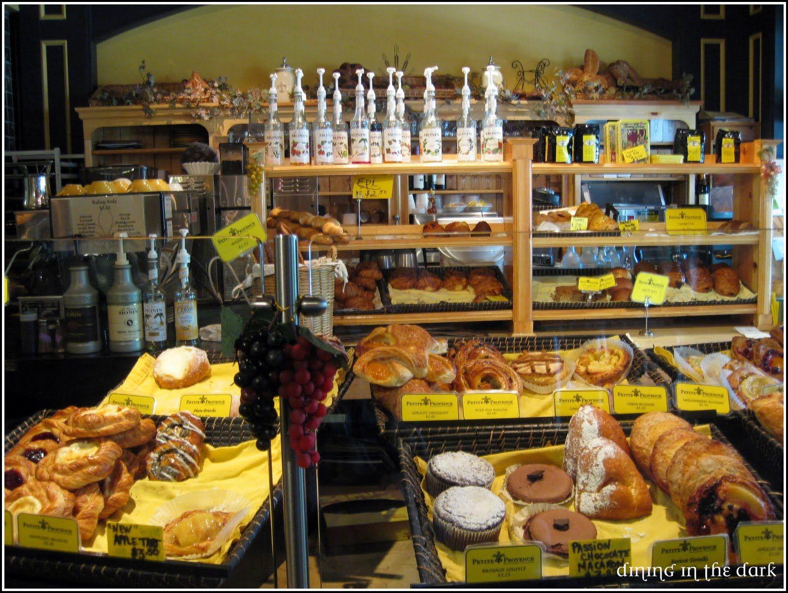 dining in the dark: La Petite Provence
