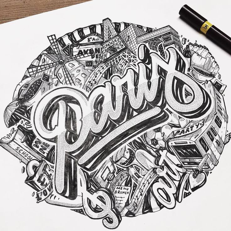Tribute to Paris by Nairone