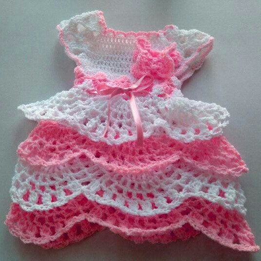 Newborn Girl Coming Home Outfit In White And Baby Pink Ruffle Baby