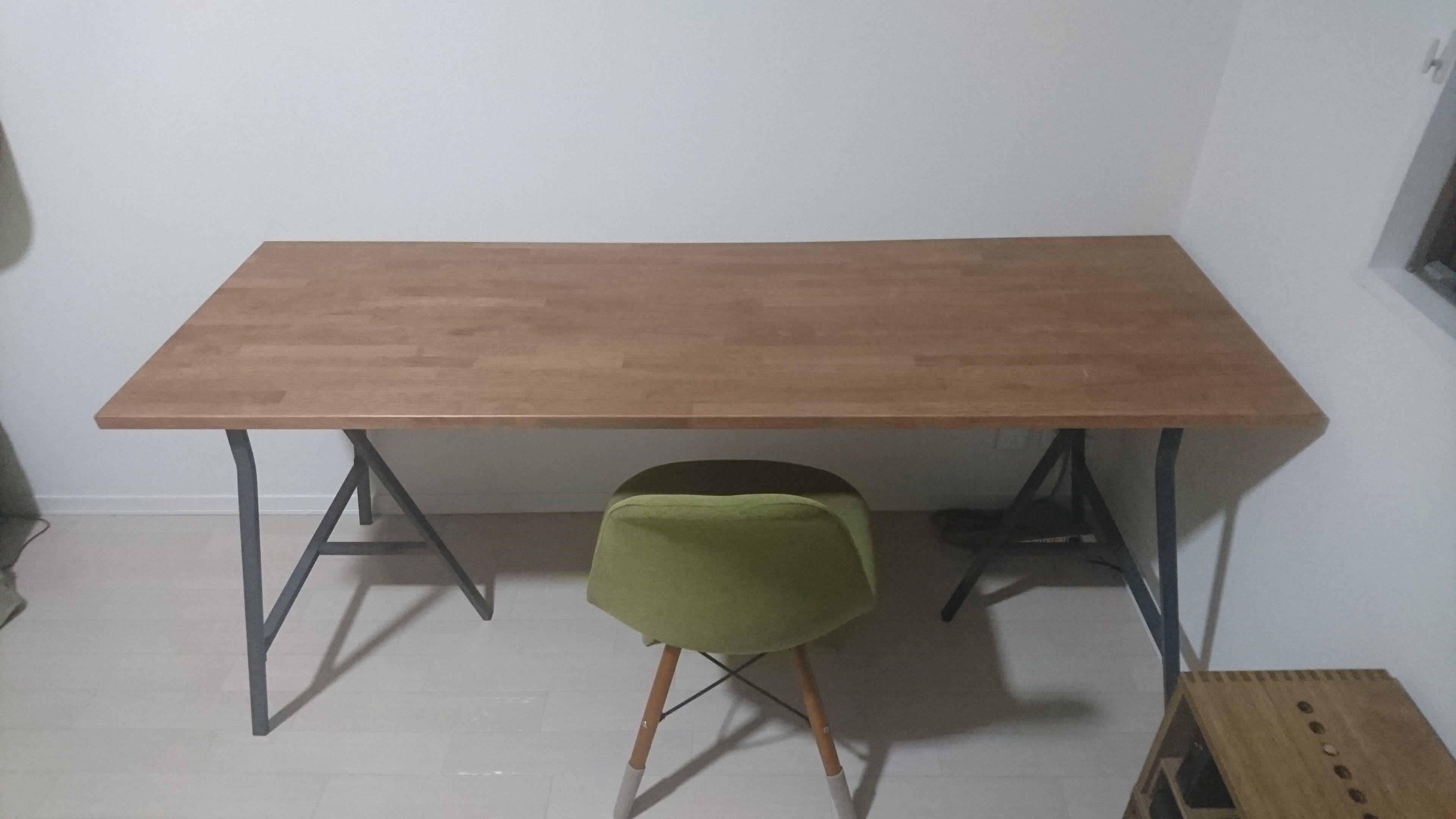 ずぼらdiyで素敵なテーブル テーブル カフェ テーブル 集成材