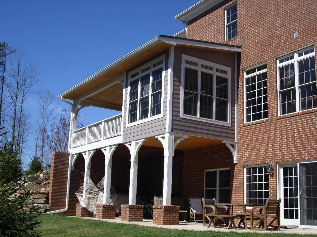 Gasp could we do this custom sunroom and wrap around for Balcony addition