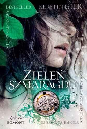 Zielen Szmaragdu Kerstin Gier 5997272296 Oficjalne Archiwum Allegro Best Book Covers Book Cover Cool Books