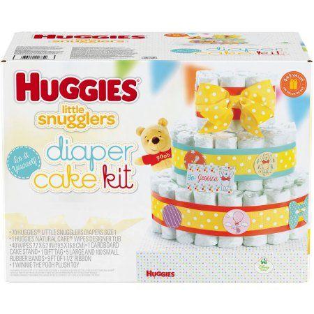 Huggies little snugglers do it yourself diaper cake kit baby huggies little snugglers do it yourself diaper cake kit solutioingenieria Images